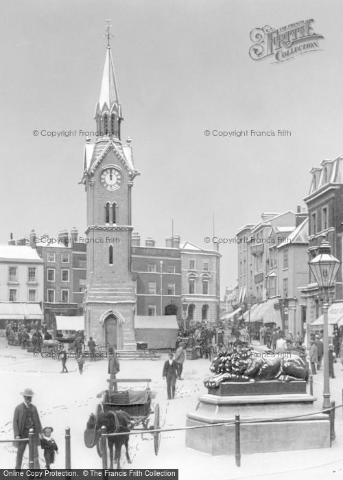 Photo of Aylesbury, Market Square 1901