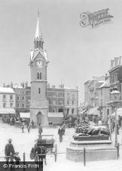 Aylesbury, Market Square 1901