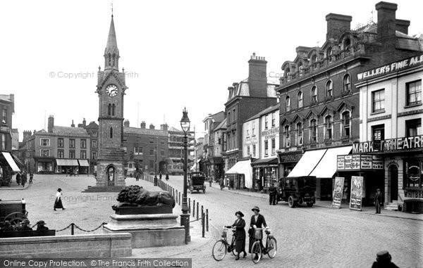 Photo of Aylesbury, Market Square 1921