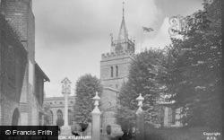 Aylesbury, St Mary's Church c.1950