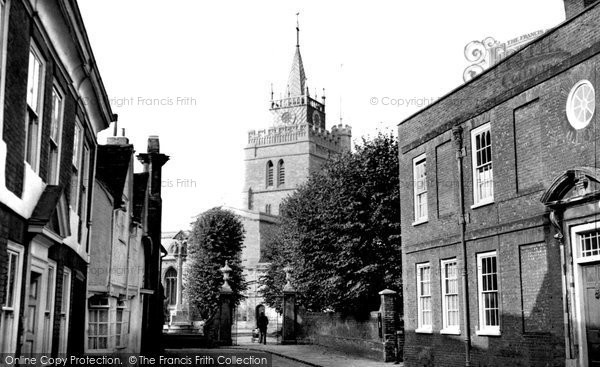 Photo of Aylesbury, St Mary's Church c.1955