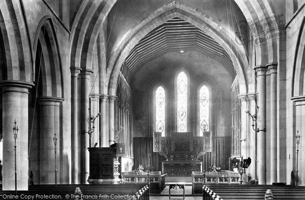 Aylesbury, St Mary's Church, the Chancel 1897
