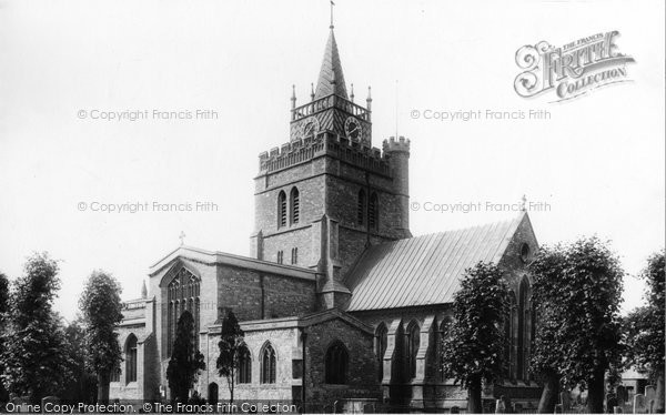 Photo of Aylesbury, St Mary's Parish Church 1897