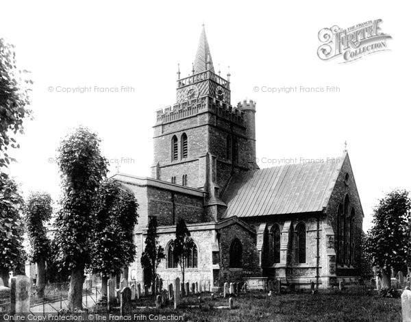 Photo of Aylesbury, St Mary's Parish Church 1897