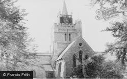Aylesbury, St Mary's Parish Church c.1965