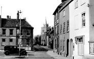 Aylesbury, Temple Square c.1955