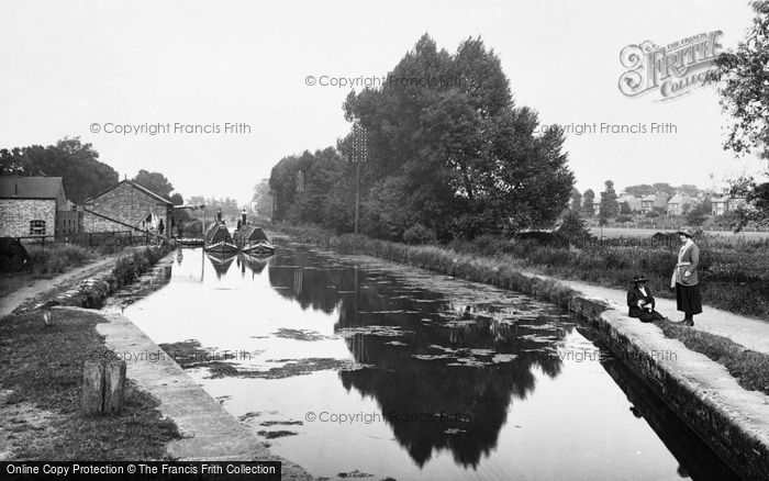 Photo of Aylesbury, The Aylesbury Arm, The Grand Union Canal 1921
