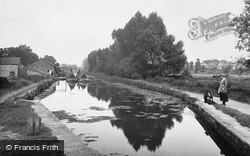Aylesbury, The Aylesbury Arm, The Grand Union Canal 1921