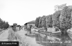Aylesbury, The Canal c.1965