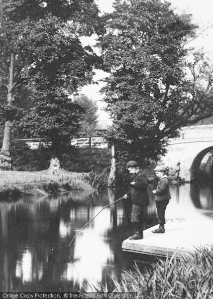 Photo of Aylesbury, The Canal, Here Fishy, Fishy 1897
