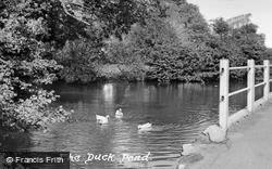 Aylesbury, The Duck Pond c.1955