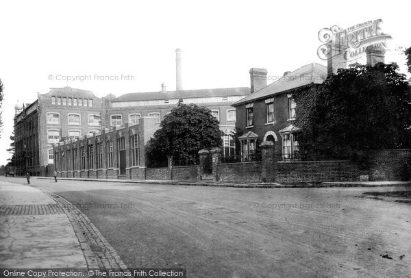 Photo of Aylesbury, The Hazell, Watson And Viney Printing Works 1897