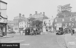 Aylesbury, The Market Place c.1955