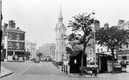 Aylesbury, The Market Place c.1955
