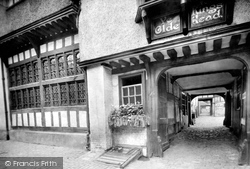 Aylesbury, The Old King's Head Hotel 1921