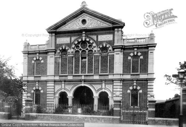 Photo of Aylesbury, Wesleyan Chapel 1897