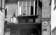 Aylesbury, Ye Olde King's Head Hotel c.1955