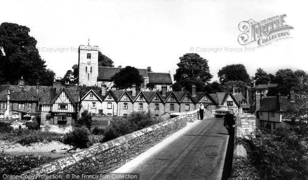 Photo of Aylesford, c.1960