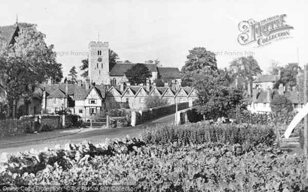 Photo of Aylesford, From Station Road c.1960