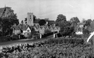 Aylesford, From Station Road c.1960