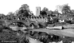 Aylesford, From The Riverwalk c.1955