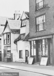 Aylesford, High Street, Post Office c.1960