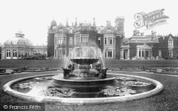 Aylesford, Preston Hall And Fountain 1898