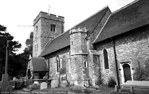 Photo of Aylesford, St Peter And St Paul's Church c.1960