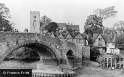 Aylesford, The Bridge And Church c.1955