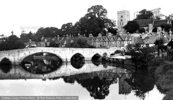 Photo of Aylesford, The Bridge c.1960