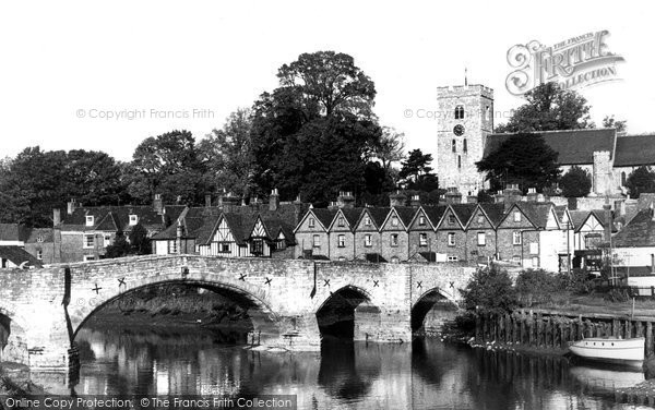 Aylesford, The Bridge c.1960