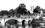 Aylesford, The Bridge c.1960