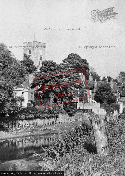 Photo of Aylesford, The Church c.1960