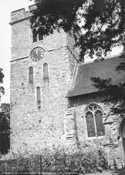 Photo of Aylesford, The Church Tower c.1960