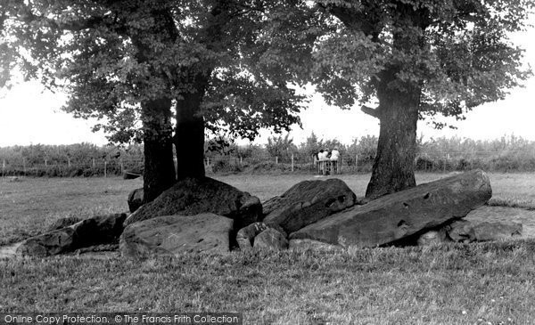 Photo of Aylesford, The Countless Stones c.1960