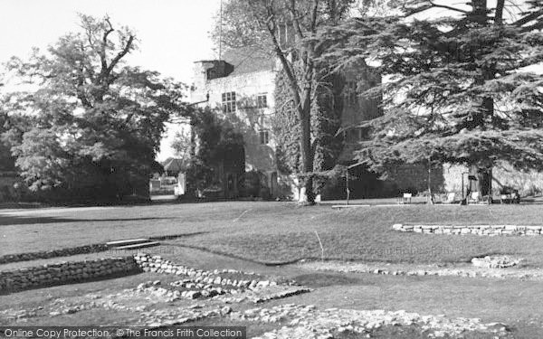 Photo of Aylesford, The Friars c.1960