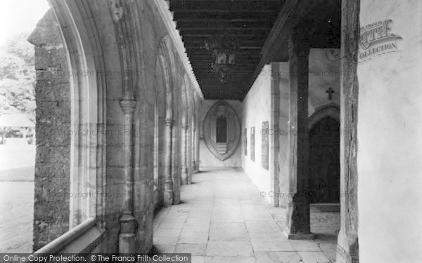 Photo of Aylesford, The Friars, The Cloisters c.1960