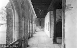 Aylesford, The Friars, The Cloisters c.1960