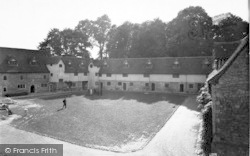 Aylesford, The Friars, The Courtyard c.1960