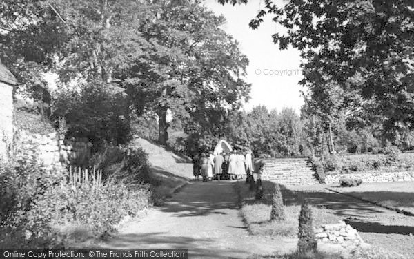 Photo of Aylesford, The Friars, The Rosary Way c.1960