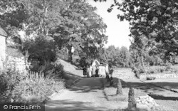 Aylesford, The Friars, The Rosary Way c.1960