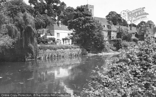 Photo of Aylesford, The River Medway c.1960