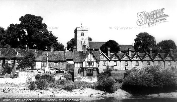 Photo of Aylesford, The Village c.1960