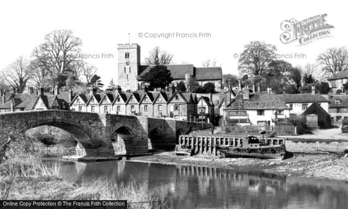 Photo of Aylesford, Village And Bridge c.1960