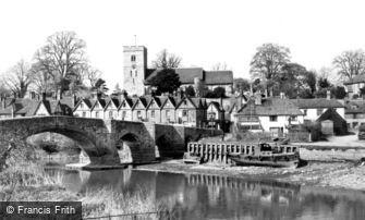 Aylesford, Village and Bridge c1960