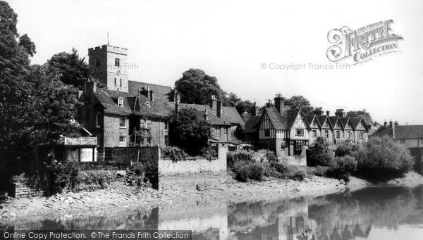Photo of Aylesford, Village c.1960