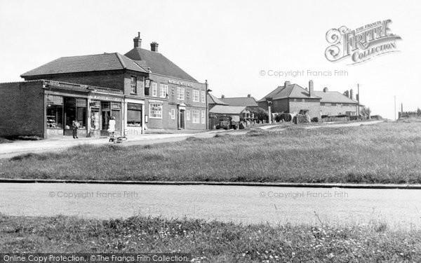 Aylesham, Dorman Avenue c1955