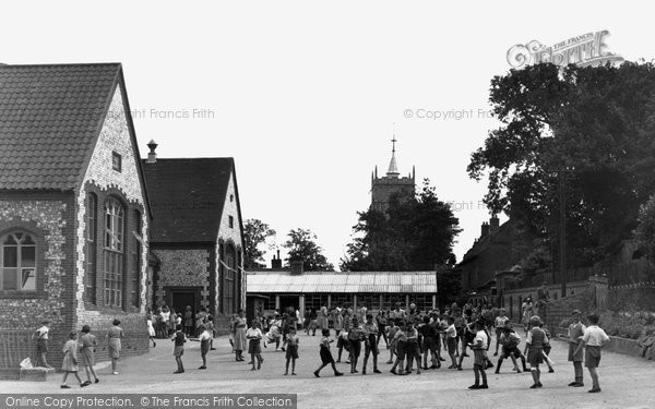 Photo of Aylsham, Aylsham School c.1955