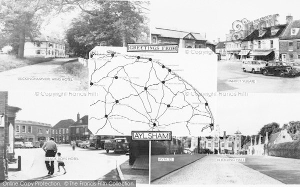 Photo of Aylsham, Composite c.1960