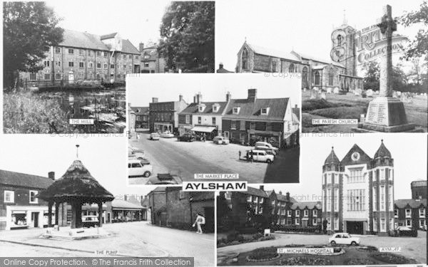 Photo of Aylsham, Composite c.1965